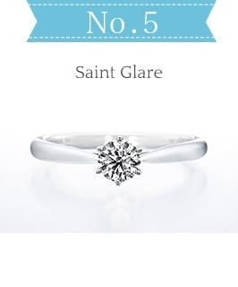 人気婚約指輪ランキング5位「Saint glare(セントグレア)」