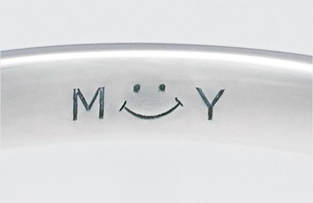 Smileで実施したレーザー刻印イメージ