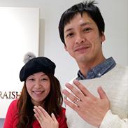 神戸三宮店に来店いただいた敏森聖さん&朗子さん
