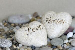 愛の言葉やメッセージを英語で刻印