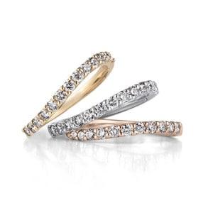 銀座ダイヤモンドシライシのエタニティリング「カルレ」
