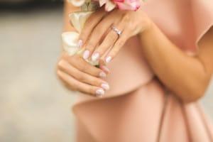 普段使い出来る婚約指輪のイメージ