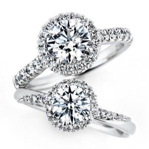銀座ダイヤモンドシライシの婚約指輪「Bouquet(ブーケ)」