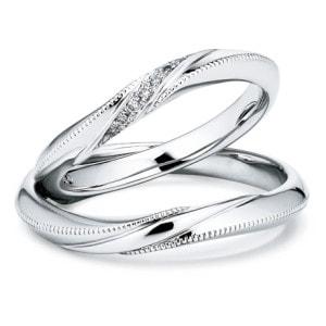 銀座ダイヤモンドシライシの結婚指輪「creer(クレール)」