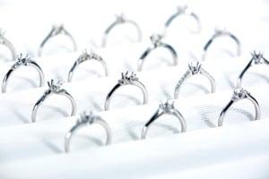 たくさんの種類の結婚指輪