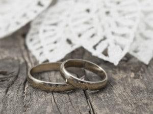 記念に結婚指輪(セカンドマリッジ)として新調するイメージ
