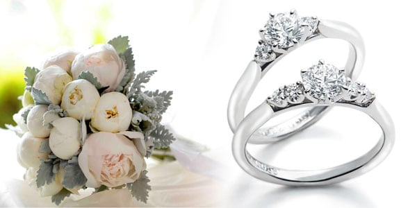 新作エンゲージリング(婚約指輪)「Bouquet(ブーケ)」