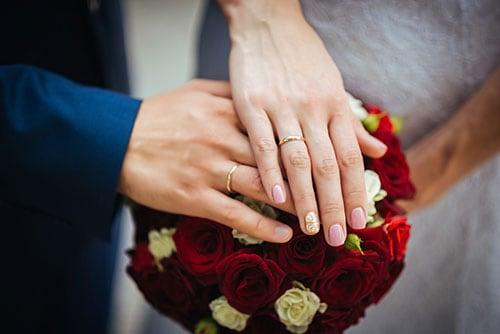 障害の宝物となる結婚指輪のイメージ