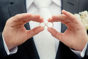 時間帯にも気をつけて!指輪サイズの測り方のイメージ