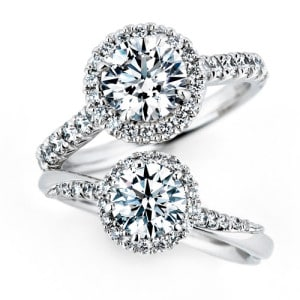 銀座ダイヤモンドシライシ人気婚約指輪(エンゲージリング)ランキング2位『Bouquet<A枠>(ブーケ<A枠>)』