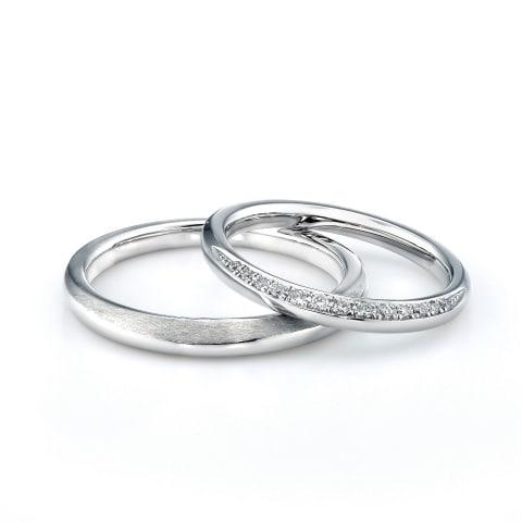 ブライト プリマージュ ストレートの結婚指輪の拡大