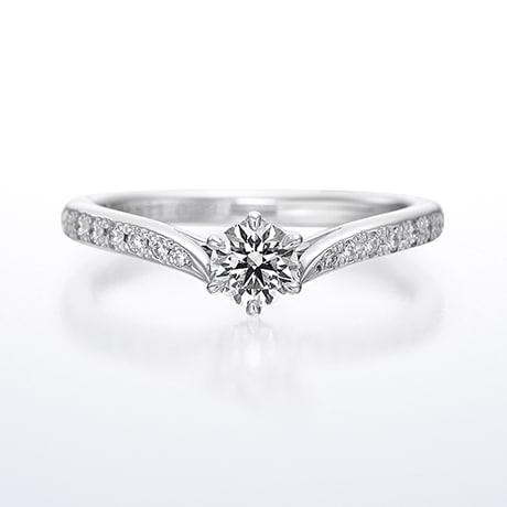 婚約指輪「Plumage Cherish」