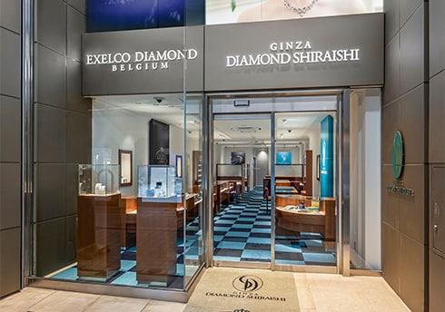 銀座ダイヤモンドシライシ 富山本店 外観