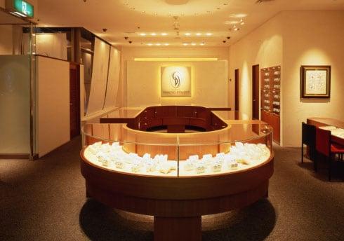 銀座ダイヤモンドシライシ 札幌時計台店 店内イメージ