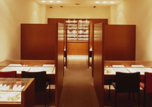 銀座ダイヤモンドシライシ 大宮店 店内イメージ